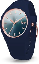 Ice-Watch IW015751 Horloge - Siliconen - Blauw - ∅  40 mm