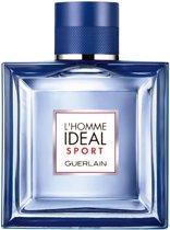 MULTI BUNDEL 2 stuks Guerlain L`Homme Ideal Sport Eau De Toilette Spray 50ml