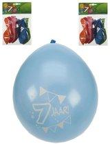 8x ballonnen 7 jaar