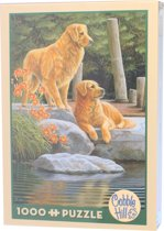 Cobble Hill Legpuzzel Twee trouwe honden 1000 stukjes