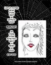Livre de coloriage parodie dessins inspir par surr aliste artiste Man Ray 20 original dessins niveau facile adulte ou enfants par artiste Grace Divine