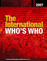 The International Who's Who 2007