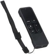 Apple tv 4 remote | Siri remote | afstandsbediening silicone hoesje (zwart)
