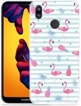Huawei P20 Lite Hoesje Flamingo Ananas