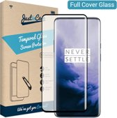 Just in Case Full Cover Tempered Glass voor OnePlus 7 Pro - Zwart