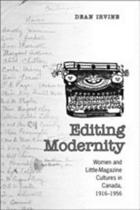 Editing Modernity
