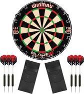 Winmau set - Blade 5 - dartbord - plus 2 sets - dartpijlen