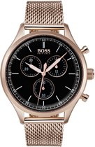 Hugo Boss  HB1513548 Companion Horloge - Staal roségoudverguld - Rosékleurig -  Ø42 mm