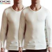 DICE 2-pack Longsleeve V-hals shirts