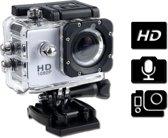 Action cameras | Actioncamera | Action cam | Actioncam | Waterdichte camera | Sport camera | Full HD 1080p | Wit | Met accessoires