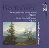 Beethoven: String Quartet Op 131 and 135 / Leipzig Quartet