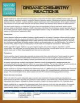 Organic Chemistry Reactions (Speedy Study Guide)