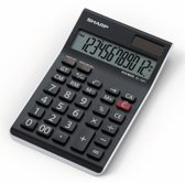 Sharp EL124TWH - Bureaurekenmachine