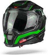 NEXX X.WST2 SUPERCELL BLACK GREEN FULL FACE HELMET 3XL