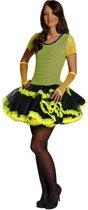 Rubie's Verkleedkostuum Shirt & Jurkje Groen Dames Maat 40 Geel/zwart