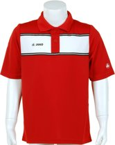 Jako Polo Player Junior - Sportpolo - Kinderen - Maat 128 - Red;White