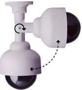 Afbeelding van Dummy 360 graden beveiligingscameras met LED - Safe Alarm