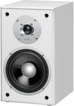 Quadra AEG 2-Weg Bass Reflex Boekenplank luidspreker LB 4720 350 W wit