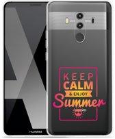 Huawei Mate 10 Pro Hoesje Summer Time
