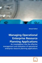 Managing Operational Enterprise Resource Planning Applications