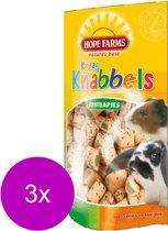 Hope farms knaagknabbel fruithapjes - 3 St à 100 gr
