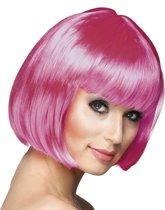 Pruik Cabaret icy pink