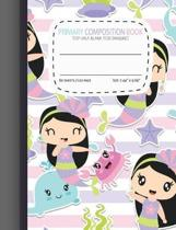 Primary Composition Notebooks Top Half Blank for Drawing