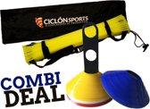 Trainingspakket! Loopladder/speedladder 6 meter met pionnenset (Ciclón Sports)