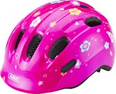 Abus Smiley 2.0 Fietshelm - Maat M (50-55cm) - Pink Butterfly