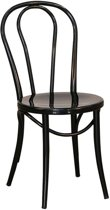 Legend No. 18 Chair - Metalen bistrostoel - Zwart
