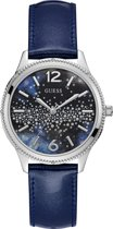 Guess Watches - W1028L1 - Horloge - Dames - Staal - Blauw - ⌀ 39 mm