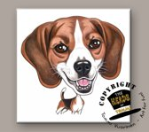 Tegel Hond Beagle