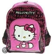 Hello Kitty  - Rugzak - Kinderen - Zwart/Roze