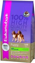 Eukanuba Dog Puppy - Lam/Rijst - Puppyvoer - 12 kg