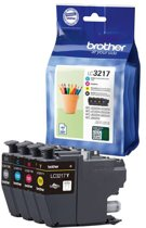 Brother LC-3217 - Inktcartridge / Zwart / Cyaan /