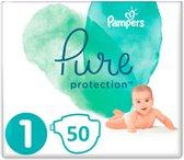 Pampers Pure Protection Luiers -  Maat 1- 50 Stuks