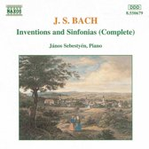 Bach: Complete Inventions and Sinfonias / Janos Sebestyen
