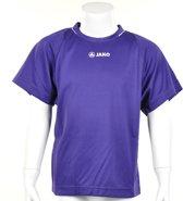 Jako Shirt Fire KM - Sportshirt - Kinderen - Maat 116 - Paars
