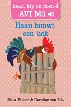 Haan, kip en hoen 4 - Haan bouwt een hek