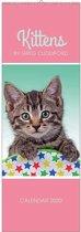 Kittens by Greg Cuddiford Slim Calendar 2020