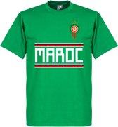 Marokko Team T-Shirt - Groen - L