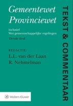 Tekst & Commentaar - Gemeentewet Provinciewet