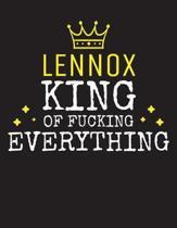 LENNOX - King Of Fucking Everything