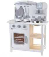 Houten kinderkeuken Chef Deluxe white