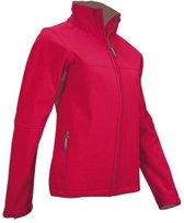 Avento Softshell Jack Dames Roze Maat M