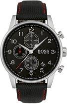 Hugo Boss HB1513535 horloge heren - zwart - edelstaal