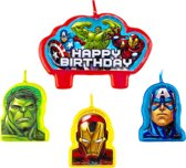 4 Birthday Candles Avengers
