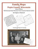 Family Maps of Pepin County, Wisconsin