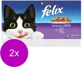 Felix Multipack Mixed Selection - Kattenvoer - 88 x 100 g