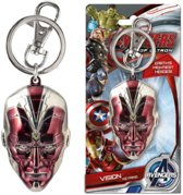 Avengers - Vision Head Colour Pewter Keychain